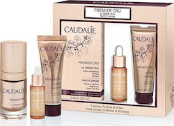 Caudalie Premier Cru The Eye Cream 15ml & Precious Oil 10ml & The Cream 15ml