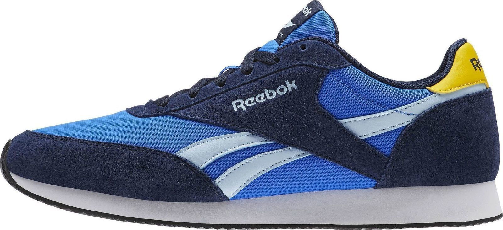 2 Show Blueyellowwhite About Reebok Trainers Details Original Royal Classic Title Jogger E2IeWbDH9Y