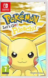 Pokemon Let's Go, Pikachu! Switch