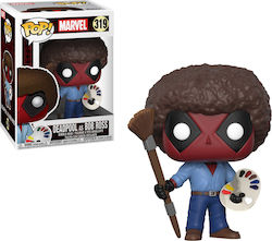 Pop! Marvel: Deadpool as Bob Ross 319
