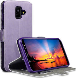 Terrapin Low Profile Wallet Μωβ (Galaxy A6 2018)