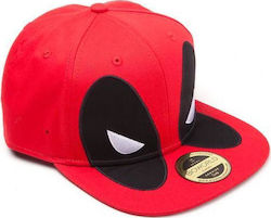 Deadpool - Big Face Snapback Cap (SB097581DEA)