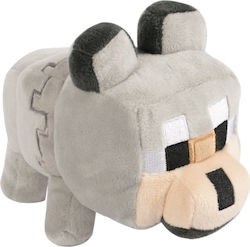 Minecraft Happy Explorer Untamed Wolf with Hangtag Plush (8138)