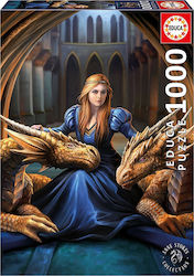 Fierce Loyalty Anne Stokes 1000pcs (17692) Educa