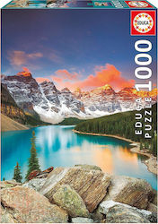 Lake Moraine Banff National Park Canada 1000pcs (17739) Educa