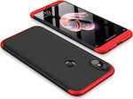 OEM 360 Full Cover Black Red (Xiaomi Redmi Note 5)