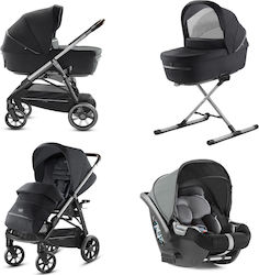 Inglesina Aptica Quattro System With Cab Car Seat Mystic Black