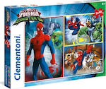 Ultimate Spiderman 3x48pcs (25217) Clementoni