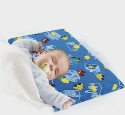 Anatomic Help Baby Sleeping 3D Pillow Blue