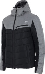 4F Ski Wear H4Z17-KUM005 Light Gray Melange