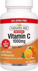 Natures Aid Vitamin C Time Release 1000mg 120 ταμπλέτες