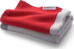 Bugaboo Light Cotton Blanket Neon Red