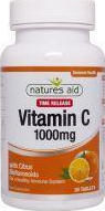 Natures Aid Vitamin C Time Release 1000mg 40 ταμπλέτες