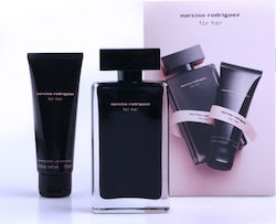 Narciso Rodriguez For Her Edt 100ml & Body Cream 75ml