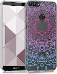 KW Dark/ Pink Indian Sun Back Cover (Huawei P Smart)