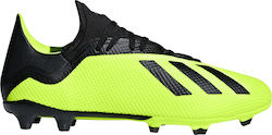 best service cd34c e9a03 Adidas X 18.3 Firm Ground Boots DB2183