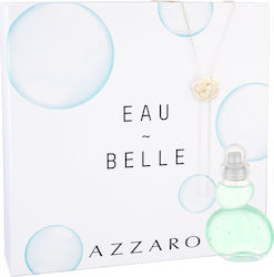 Azzaro Eau Belle D Edt 50ml + Necklace