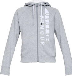 Under Armour Rival Fleece Full Zip Hoodie 1321186-035
