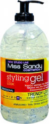 Miss Sandy Hair Gel Extra Extra Strong Hold 600ml