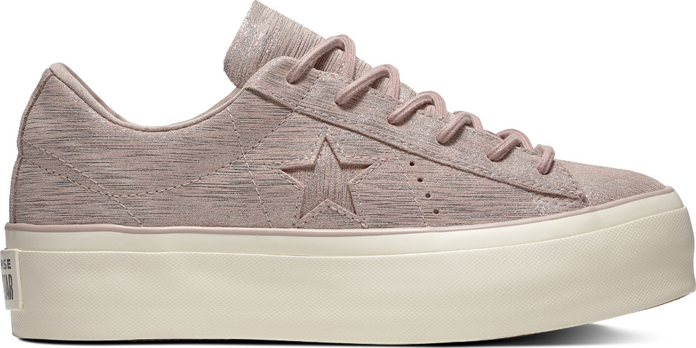 34c8b7a0ea2c Προσθήκη στα αγαπημένα menu Converse One Star Platform Metallic Suede Low  Top 561771C