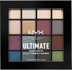 Nyx Professional Makeup Ultimate Shadow Palette Smokey & Highlight