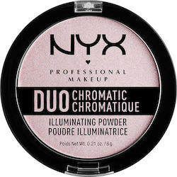 Nyx Professional Makeup Chromatic Illuminating Powder Lavender Steel 6gr