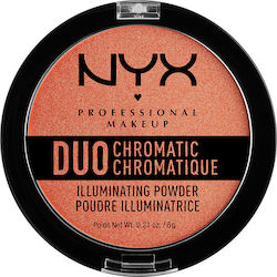 Nyx Professional Makeup Duo Chromatic Illuminating Powder Synthetica 6gr