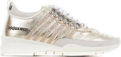 Dsquared Sneakers-Gold (Αθλητικά Γυναικείο Leather Gold - SNW0101 04400943)