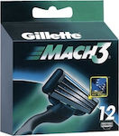 Gillette Mach3 Replacement Blade 12τμχ