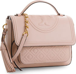Τσάντα TORY BURCH - Fleming Satchel 45147 Shell Pink 652