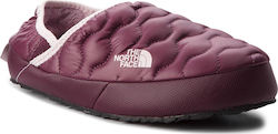 Παντόφλες THE NORTH FACE - Thermoball Traction Mule IV T9331F5UF Shiny Fig/Burnished Lilac