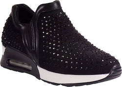 Bagiota Shoes Γυναικεία Παπούτσια Sneakers 21202 Μαύρο bagiotashoes 21202 mauro