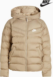 Nike Jacket Filled 939554-235 Μπεζ