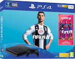 Sony PlayStation 4 Slim 1TB & FIFA 19