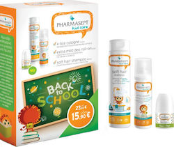 Pharmasept X-Lice Cologne 100ml + Extra Mild Deo Roll-On 50ml + Soft Hair Shampoo 300ml