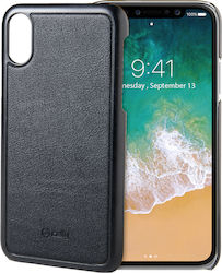 Celly Ghost Cover Μαύρο (iPhone X/Xs)