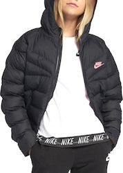 Nike Synthetic Fill Jacket 939554-011 Mαύρο
