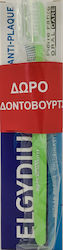 Elgydium Antiplaque Jumbo 100ml + Clinic 20/100 1τμχ