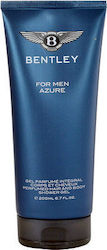 Bentley Azure Men Hair & Body Shampoo 200ml