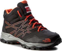 Μποτάκια πεζοπορίας THE NORTH FACE - Hedgehog Hiker Mid Wp T0CJ8QNMY Tnf Black/Mandarin Red