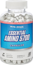 Body Attack Essential Amino 5700 180 κάψουλες