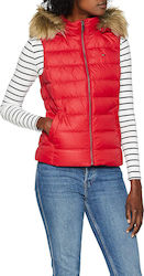 Tommy Hilfiger Essential Hooded Down Red