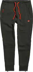 Superdry Gym Tech Pique Jogger Dark Green