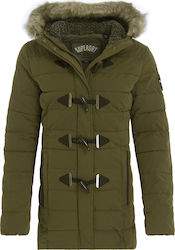 Superdry Toggle Puffle Green