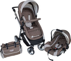 Bebe Stars Prado 3 in 1 Brown