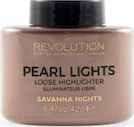 Makeup Revolution Revolution Pearl Lights Loose Highlighter Savana Nights 25gr