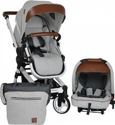 Bebe Stars Vista 3 in 1 Grey