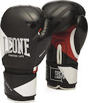 Leone Fighter Life Boxing Gloves GN307 Black