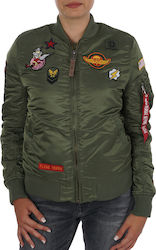 Alpha Industries MA-1 VF Patch Sage Green