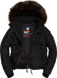 Superdry Horizon Padded Black
